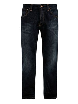 Sharp Bengt loose-fit jeans