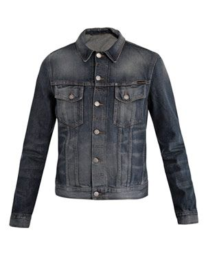 Perry organic-denim jacket