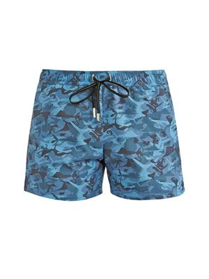 Marlin camouflage swim shorts