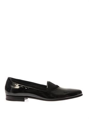 Belafonte patent leather loafers