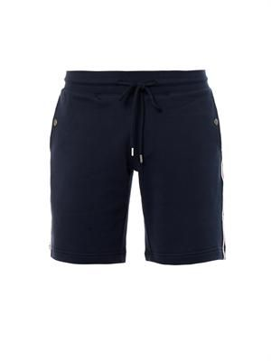 Cotton-jersey sweat shorts