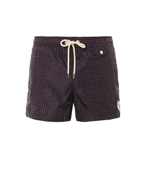 Pois dot-print swim shorts