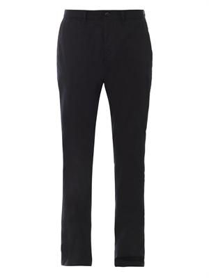 Cotton-gabardine chinos