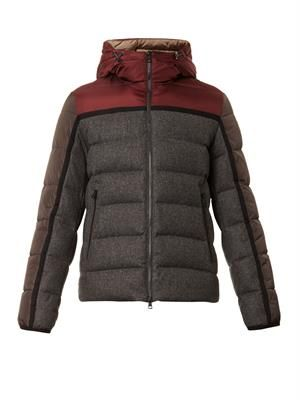 Julio hooded quilted down jacket