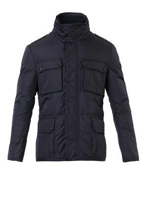 Amazzone quilted field jacket