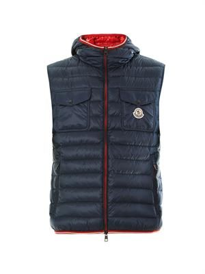 Gers hooded gilet