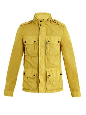 Duliex patch-pocket jacket