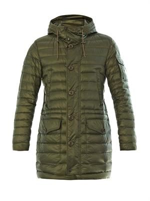 Benjamin long down jacket