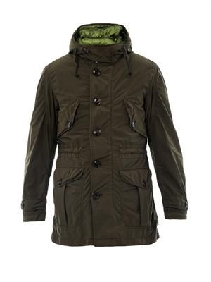 Ulysse two-in-one parka