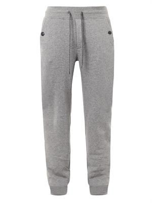 Cotton-jersey sweatpants
