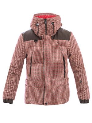Pitztal houndstooth quilted jacket
