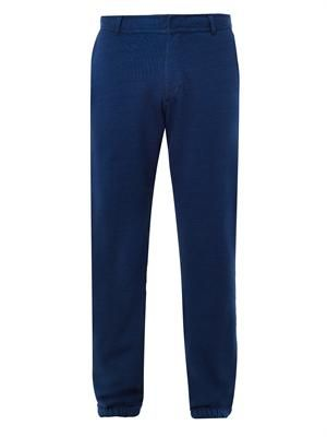 Shep cotton-jersey sweat trousers