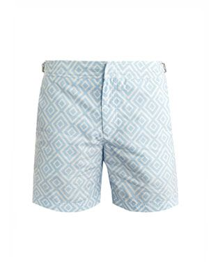 Bulldog mid-length swim shorts