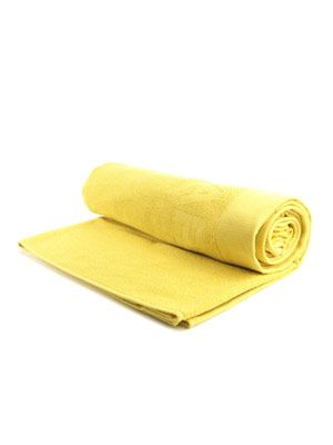 Yellow towel