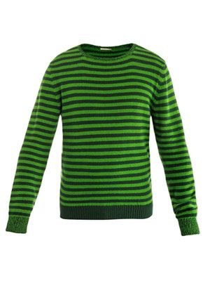 Jean Pierre stripe-knit sweater