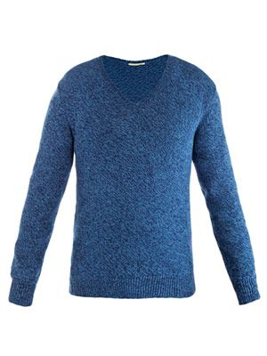 Matihas melange knit sweater