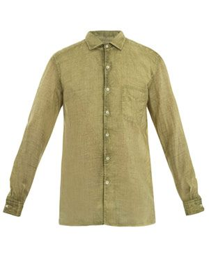 Bowl nettle collared shirt