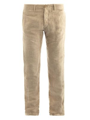 Fisher cinch-back trousers