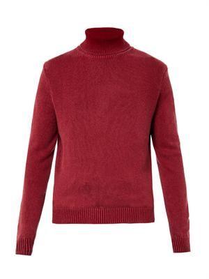 Milton roll-neck cashmere sweater