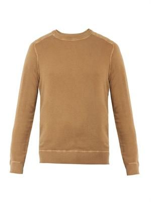 Sport cashmere-knit sweater