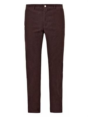 Winch washed micro-corduroy trousers
