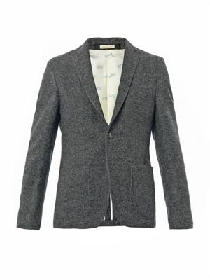 Two button tailored jacket