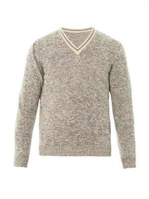 Mathias cotton-knit sweater