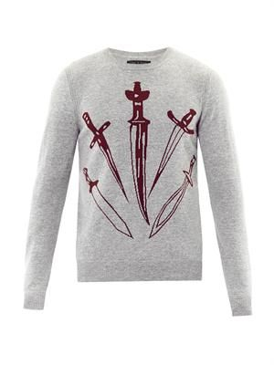 Big Dagger crew-neck sweater