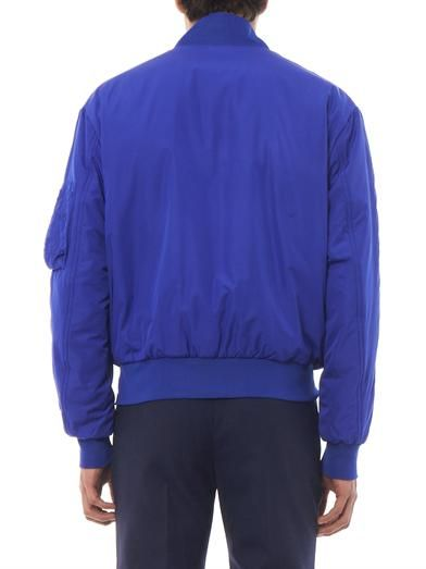 McQ Alexander McQueen Dropped shoulder bomber jacket