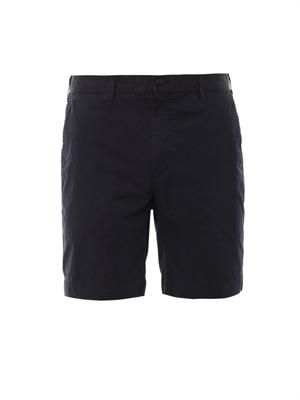 Straight-fit Newport cotton shorts