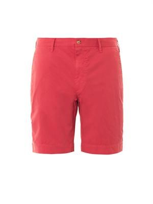 Slim-fit Newport cotton shorts