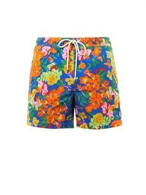 "Floral Island 5"" swim shorts"