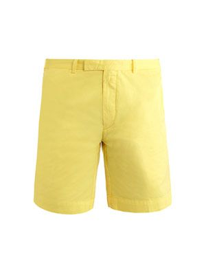 Hudson cotton shorts