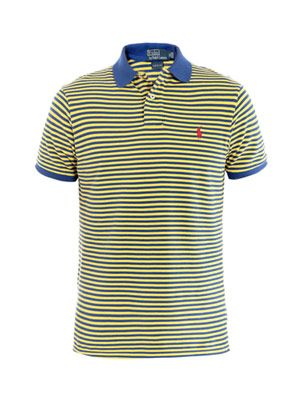 Small Pony striped polo top