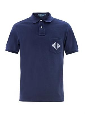 Custom fit RLC polo shirt