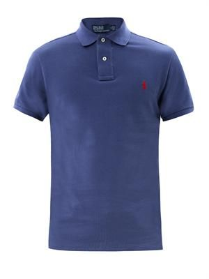 Small pony slim-fit polo shirt