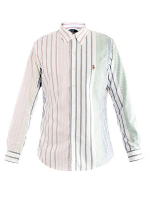 Multi-stripe shirt