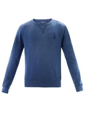 Crew-neck sweat top