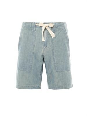 Moonshine drawstring shorts