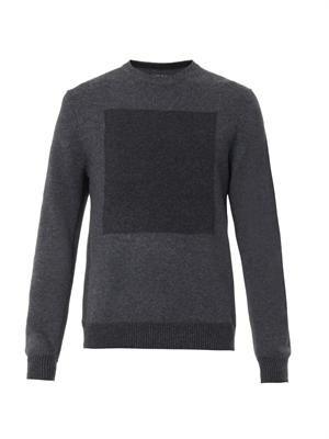 Joel contrast-knit wool sweater