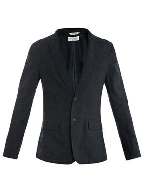 Philips cotton-linen blazer