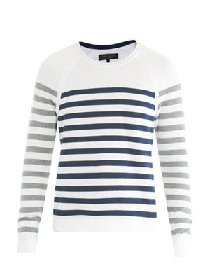 Finn raglan stripe sweater