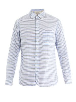 Stripe placket shirt