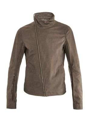 Bauhaus leather jacket