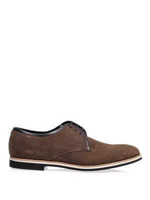 Roger suede Derby shoes