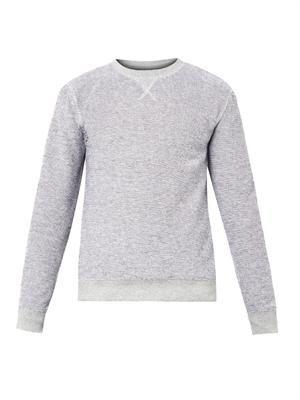 Reverse-loop sweatshirt
