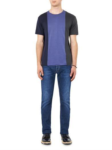 Sunspel Striped jersey T-shirt