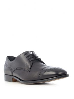 Derby brogue lace-up shoes