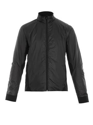 Boundary insulated ski jacket
