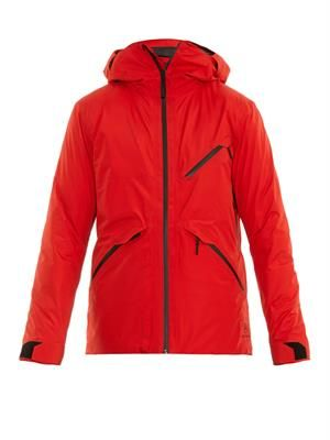 Crest insulated ski jacket